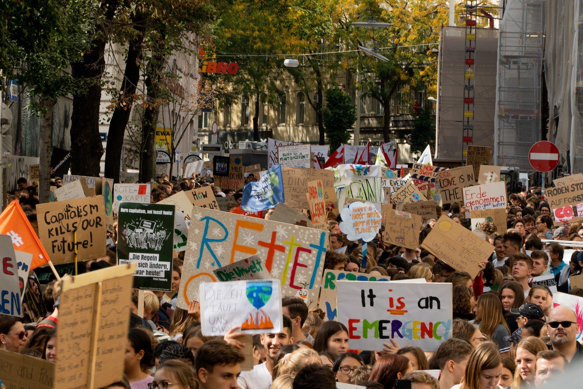 60 Prozent der jungen Menschen haben wegen Klimakrise Zukunftsängste!